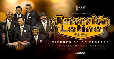 Los Generales de la Salsa llegan al Perú: La Dimensión Latina